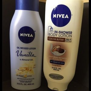 COPY - Nivea body lotion and in shower body lotion